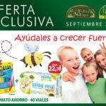 Oferta de Septiembre: Por la compra de un Jalea Real Infantil con Propóleo 40 viales Phytogreen una caja de rotuladores Carioca de regalo.